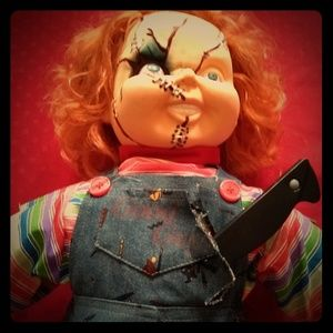 Offers Welcome**Chucky Doll Collectors Item